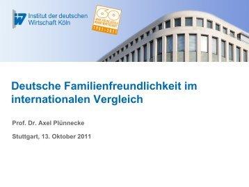 Deutsche Familienfreundlichkeit im europäischen Vergleich