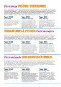 Pneumatic PISTON VIBRATORS - Page 2
