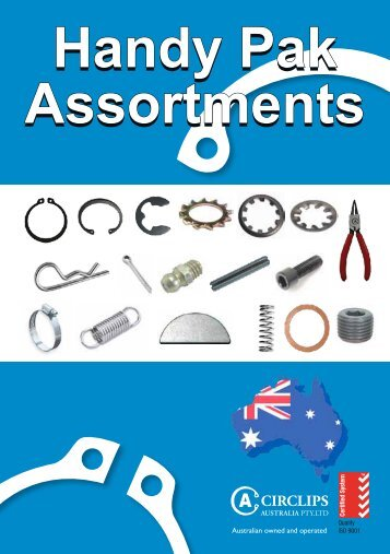 Handy Pak Assortments - Industrial and Bearing Supplies