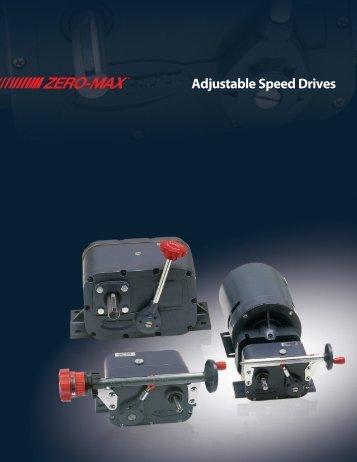 Web Speed Drives - Zero-Max, Inc.