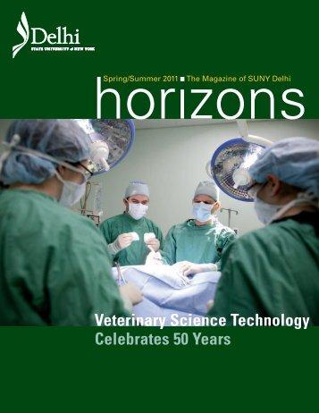 Veterinary Science Technology Celebrates 50 Years - SUNY Delhi