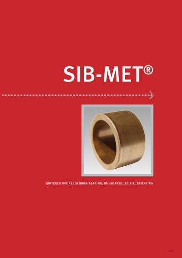 sintered bronze sliding bearing, oil-soaked, self-lubricating