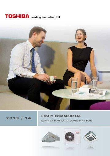 Light Commercial katalog 2013/14 - Toshiba