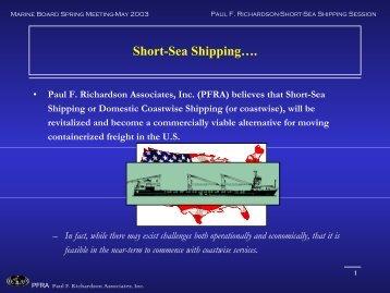 Short-Sea Shipping…. - trail