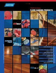 Floor Sanding Catalog 350 2009.qxd - Abrasives of Saint Paul