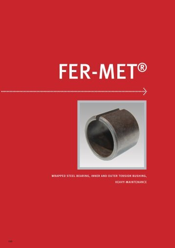 Wrapped Steel Bearing, Inner And Outer Tension Bushing, Heavy