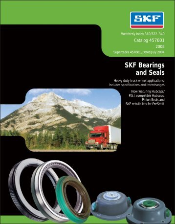 SKF Bearings and Seals - Industrial and Bearing Supplies