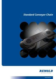 Renold Standard Conveyor Chain - Industrial and Bearing Supplies