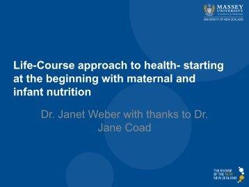 Dr Janet Weber