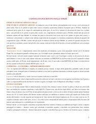 1 CAPITOLATO DESCRITTIVO DELLE OPERE - Immobiliare.it