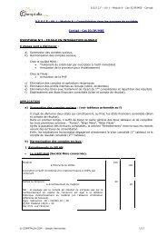 Consolidation dans les groupes de sociétés Corrigé - Cas IG/IP ...