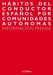 hábitos del conductor español por comunidades ... - Línea Directa