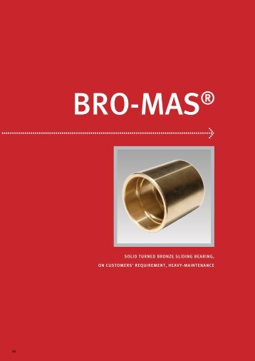 solid turned bronze sliding bearing, on customers' requirement ...
