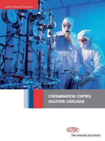 Contamination Control solution CataloGuE - DuPont