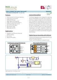 E910.62 1/7 Features Digital Sensor Assembly with E910.62 ...