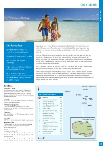 South Pac Ific Travelpoint Holidays