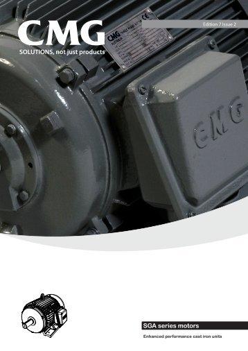 SGA series motors - ACP & D, Ltd.