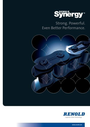 For more information and full specifications download the ... - Renold