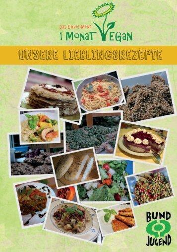 Vegane Lieblingsrezepte - Genusswolke