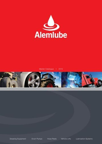 2010 Alemlube Master Catalogue.1:Catalogue - Industrial and ...