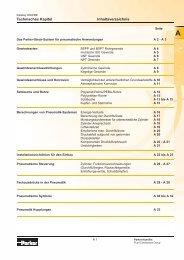 Allgemein - Siebert Hydraulik & Pneumatik