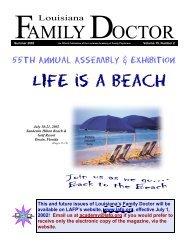 Louisiana Family Doctor - LAFP