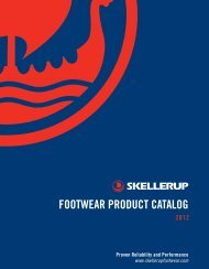 FOOTWEAR PRODUCT CATALOG - Industrial and Bearing Supplies