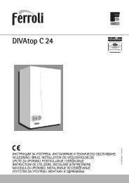 DIVAtop C 24 - Ferroli