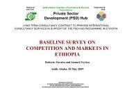 presentation of results of a baseline study - Economisti Associati Srl