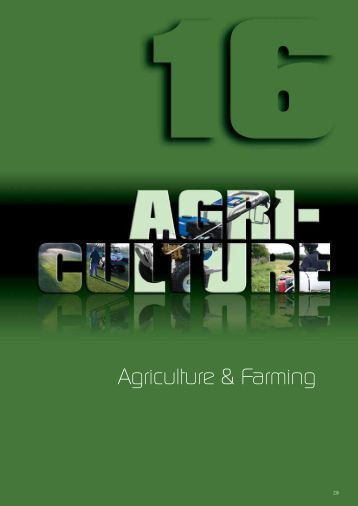 Agriculture & Farming - Industrial and Bearing Supplies