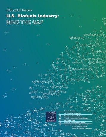 US Biofuels Industry - EERE - U.S. Department of Energy