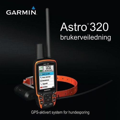 Bruksanvisning Garmin Astro 320 Nordisk Pdf