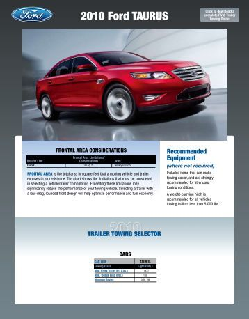 ford 2010 explorer towing guide ford com ford 2010 explorer towing. Cars Review. Best American Auto & Cars Review