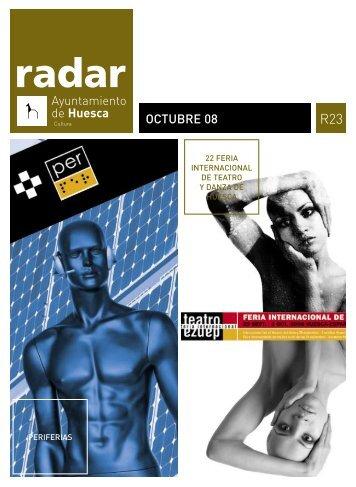 Radar, octubre 2008 - Ayuntamiento de Huesca