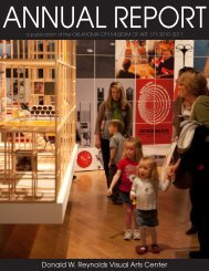 Donald W. Reynolds Visual Arts Center - Oklahoma City Museum of ...