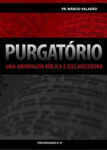 Purgatório - Livros evangélicos
