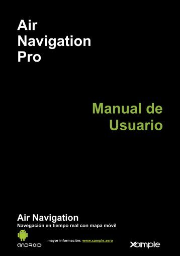 Air Navigation Pro Manual de Usuario - Xample