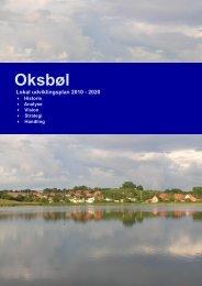 Oksbøl udviklingsplan - Sønderborg kommune på InfoLand