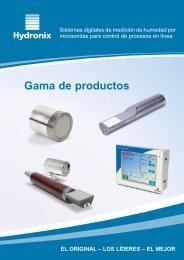 Gama de Productos - Hydronix