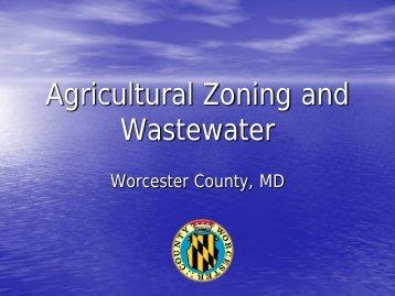 Septic Pretreatment in Worcester County's Coastal & Chesapeake ...