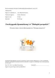 Dialogisk perspektiv - Able - Annette Johannesen