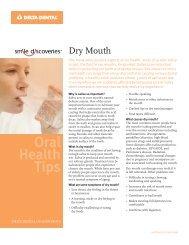 Oral Health Tips - Delta Dental Of Minnesota