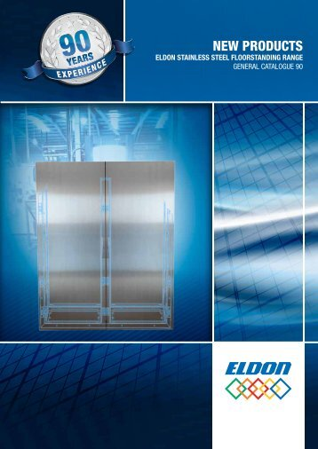 Stainless steel floor standing products leaflet - Eldon
