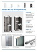 Stainless steel floor standing products leaflet - Eldon - Page 2