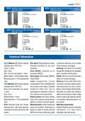 Stainless steel floor standing products leaflet - Eldon - Page 3