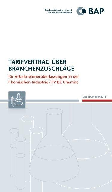 Tarifvertrag chemie entgelttabelle 2020
