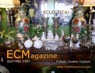 ECLECTICA! - The Ebony Cactus