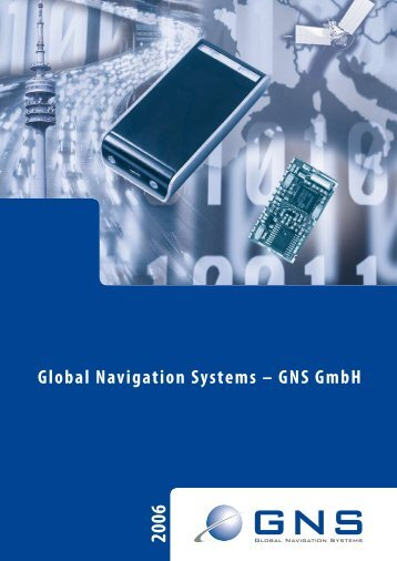 Global Navigation Systems – GNS GmbH - KKoeniger