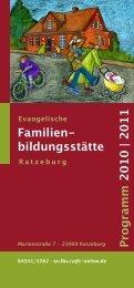 Familien- bildungsstätte Programm 2010 | 2011 - St. Georgsberg