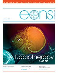 Radiotherapy - the European Oncology Nursing Society